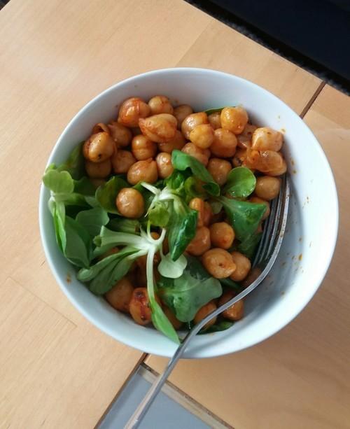garbanzos ensalada proteínas