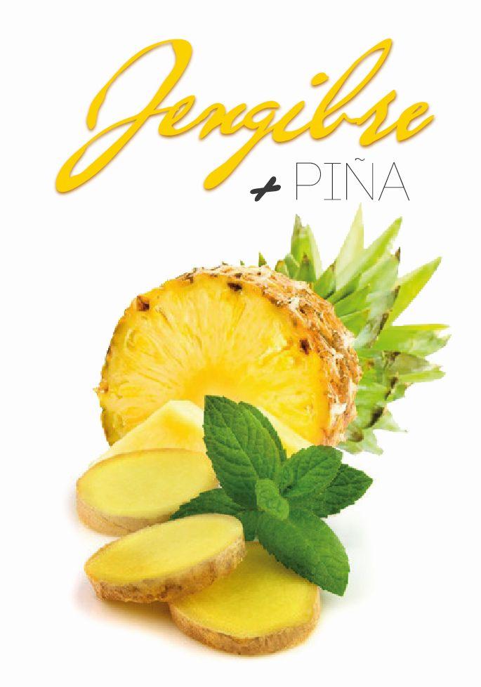 jengibre piña digestivo