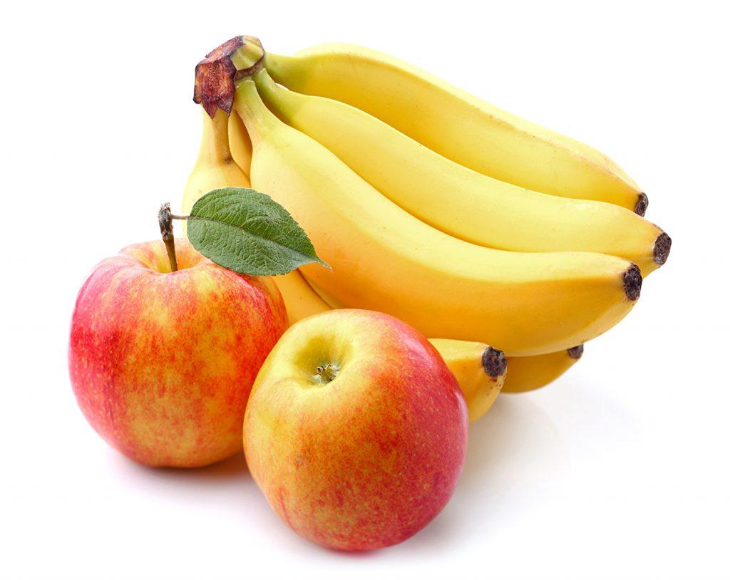 platano manzana Alimentos Digestivos